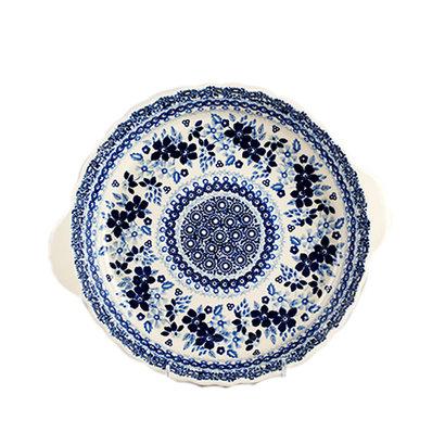 Indigo Garden Pie Plate