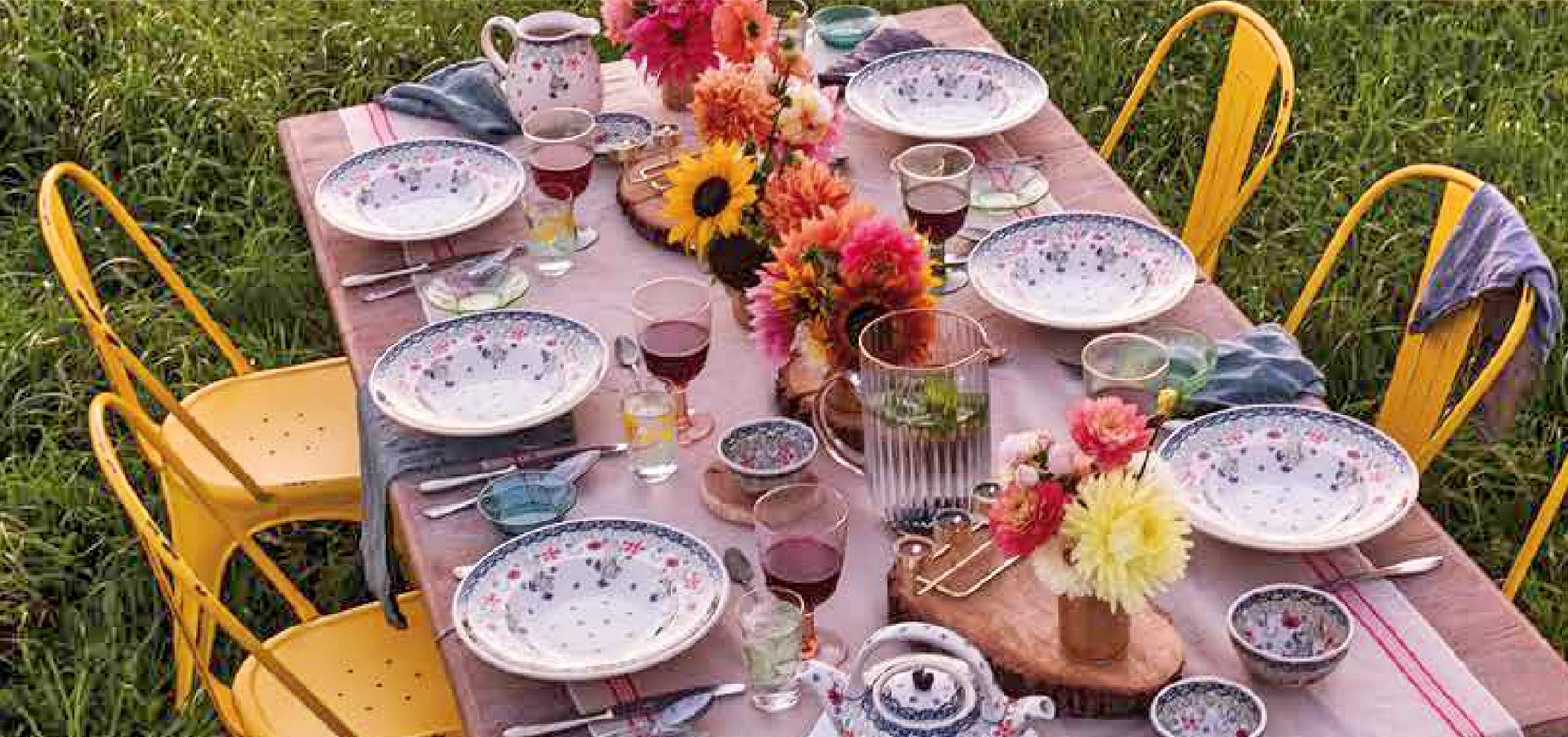 Entertain This Summer With Hand Painted Boleslawiec Pottery Tableware