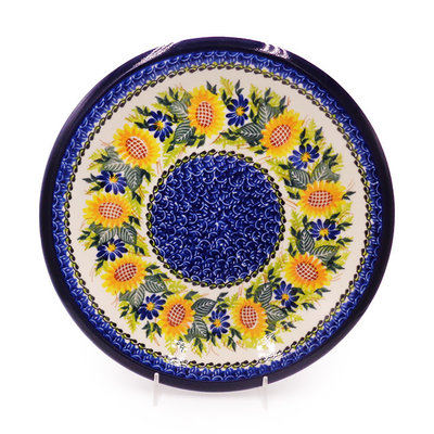 Kalich Sunflower Dinner Plate