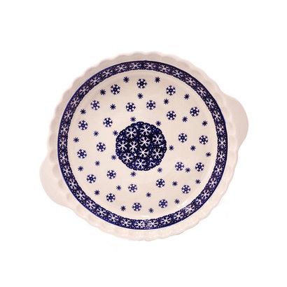 Snowflake Pie Plate