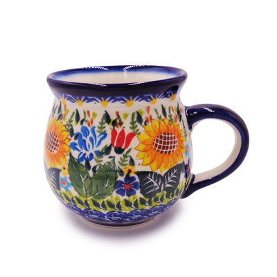 Kalich Sunflower Garden Bubble Mug