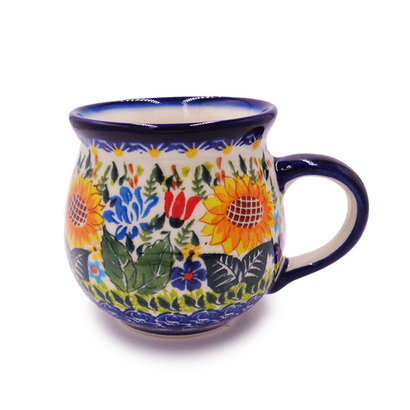 Kalich Sunflower Garden Bubble Mug