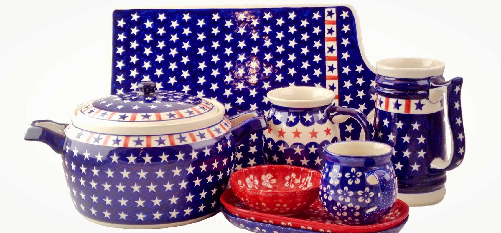 Polish Pottery Patterns For Independence Day