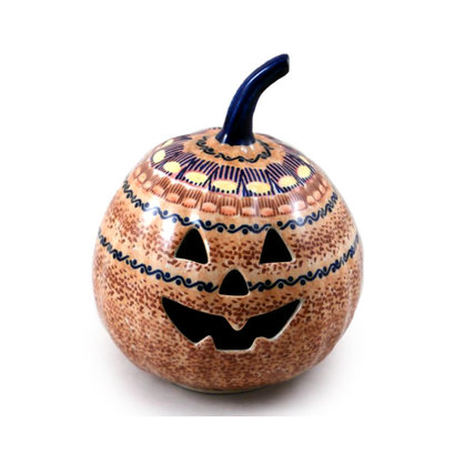 Candy Corn Pumpkin Lantern - Sm