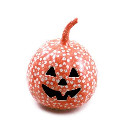 Orange Blossom Pumpkin Lantern - Sm
