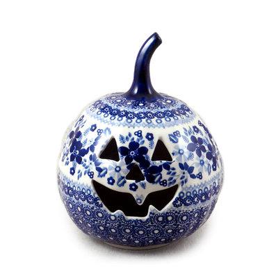 Indigo Garden Pumpkin Lantern - Sm