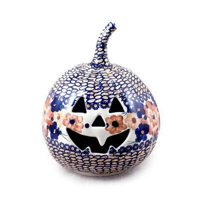 Harvest Basket Pumpkin Lantern - Sm