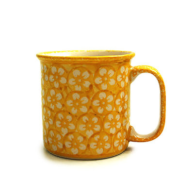 Yellow Blossom Straight Mug