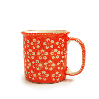 Orange Blossom Straight Mug