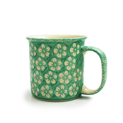 Mint Blossom Straight Mug