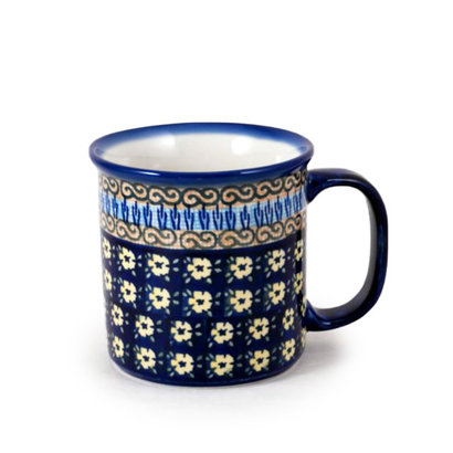 Midnight Daisy Straight Mug