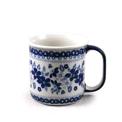 Indigo Garden Straight Mug