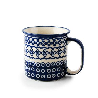 Diamond Lattice Straight Mug
