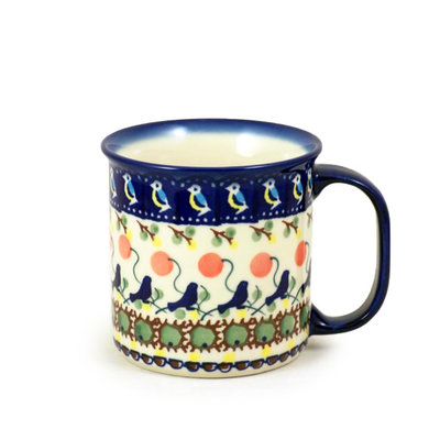 Blue Bird Straight Mug