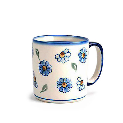 Painted Daisy Straight Mug