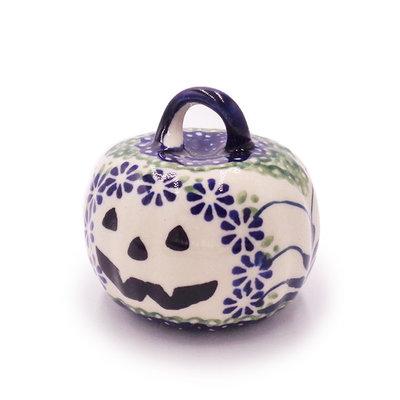 Forget Me Nots Pumpkin Ornament