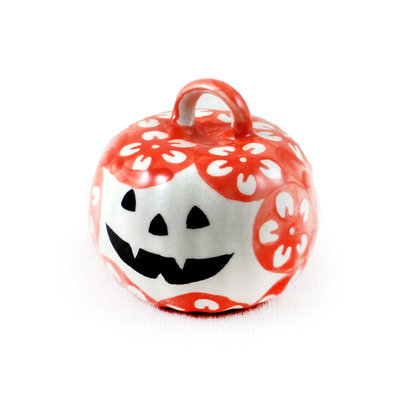 Orange Blossom Pumpkin Ornament