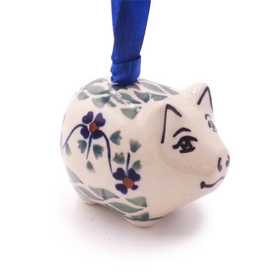 Rhine Valley Piggy Ornament