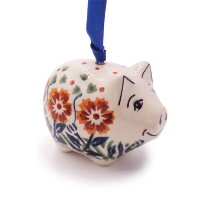 Tuscany Piggy Ornament