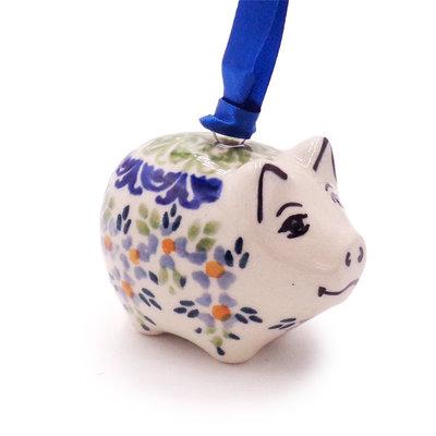 Wisteria Piggy Ornament