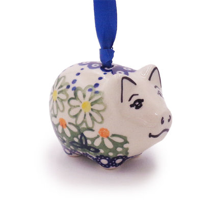 Mayzie Piggy Ornament