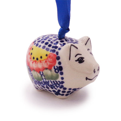 Gypsy Jazz Piggy Ornament