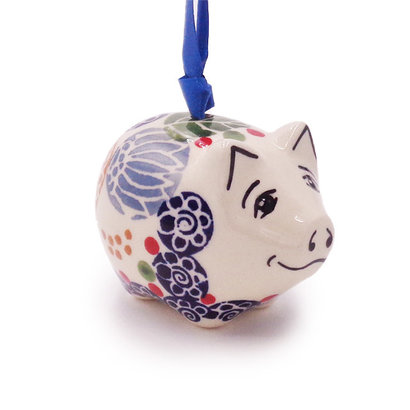 Rennie Piggy Ornament