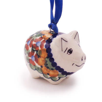 Avery Piggy Ornament