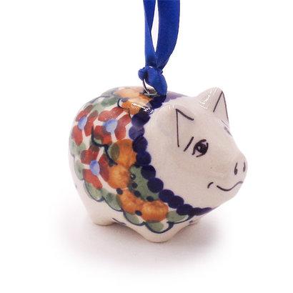 Avery Piggy Ornament