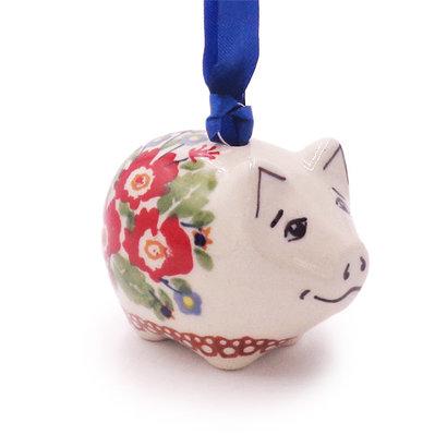 Lidia Piggy Ornament