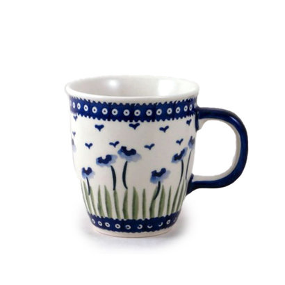 Blue Poppies Mars Mug