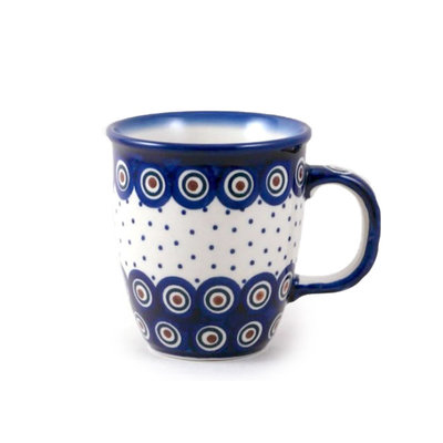 Dotted Peacock Mars Mug