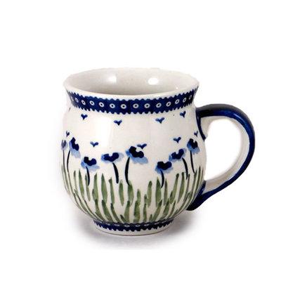 Blue Poppies Bubble Mug - Lrg