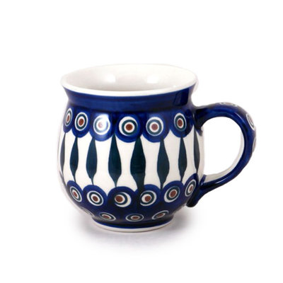 Peacock Bubble Mug - Lrg