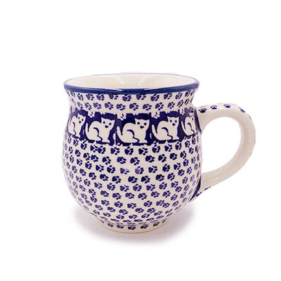 Jack's Cat Bubble Mug - Lrg
