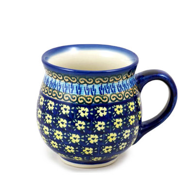 Midnight Daisy Bubble Mug - Lrg