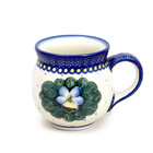 Pansies Bubble Mug - Lrg