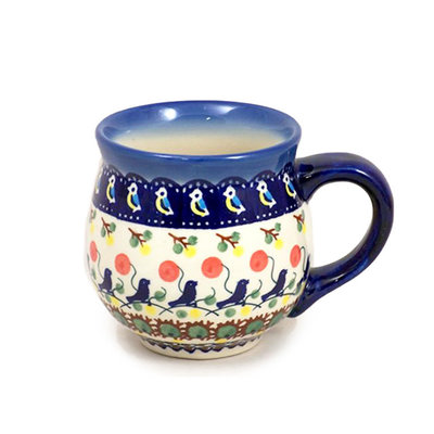 Blue Bird Bubble Mug - Lrg