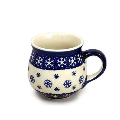 Snowflake Bubble Mug - Med