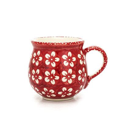 Scarlet Blossom Bubble Mug - Med