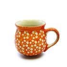 Orange Blossom Bubble Mug - Med