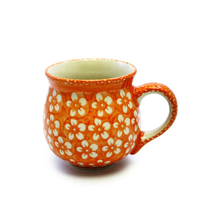 Orange Blossom Bubble Mug - Med