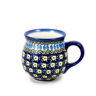 Midnight Daisy Bubble Mug - Med