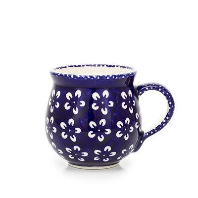 Blue Blossom Bubble Mug - Med