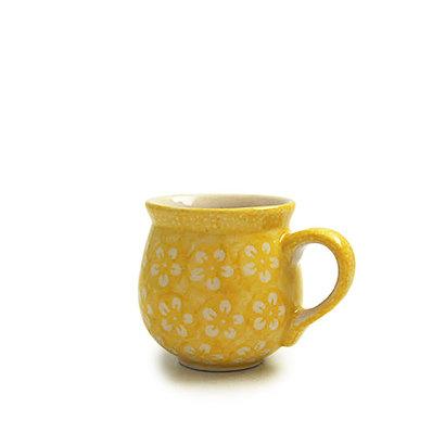 Yellow Blossom Bubble Mug - Sm