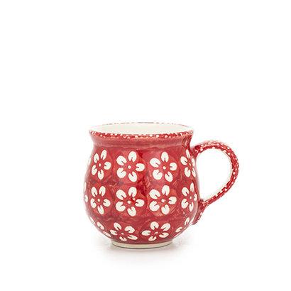 Scarlet Blossom Bubble Mug - Sm