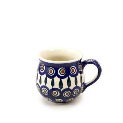 Peacock Bubble Mug - Sm