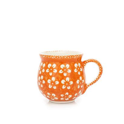 Orange Blossom Bubble Mug - Sm