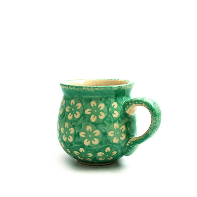 Mint Blossom Bubble Mug - Sm
