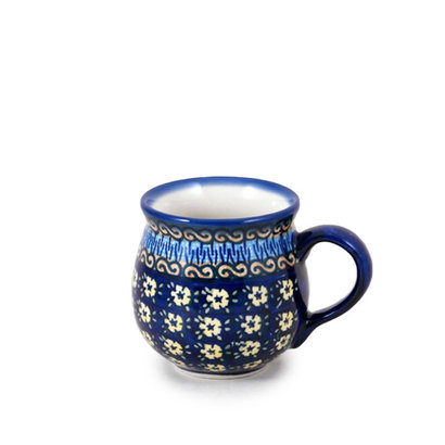 Midnight Daisy Bubble Mug - Sm
